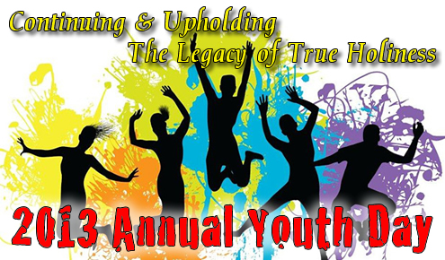 ... 18 for their annual youth day at 5 p m this year the youth department