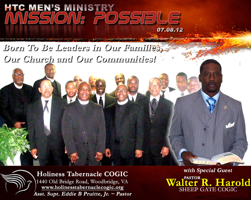 2012 Annual Men's Day Archives - Holiness Tabernacle COGICHoliness ...